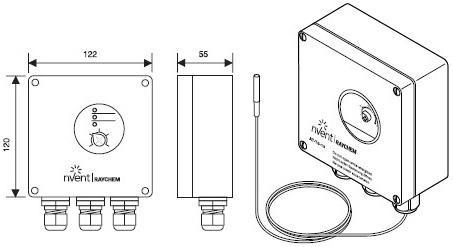 AT-TS-13 термостат
