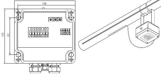 ETS-05-L2-E термостат