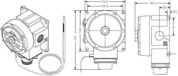 RAYSTAT-EX-02 термостат